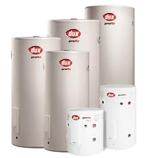 dux hot water system